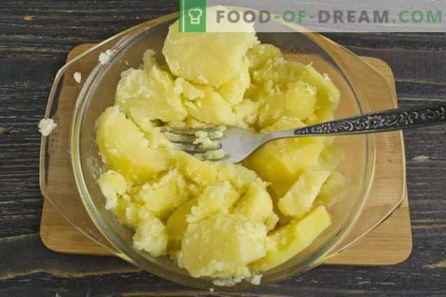 Placki ziemniaczane z mielonym mięsem i warzywami