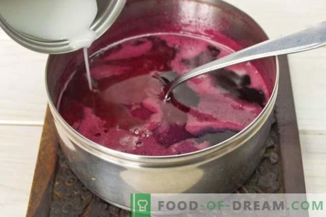 Ciasto naleśnikowe z jogurtem i galaretką malinową