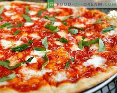 Ciasto do pizzy bez drożdży jak w pizzy, przepisy