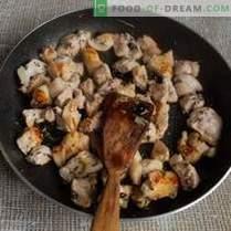 Kruchy pilaw z dynią i mięsem w stylu azerbejdżańskim