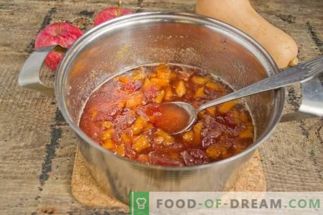 Mermelada de manzana con calabaza: el sabor dulce del otoño