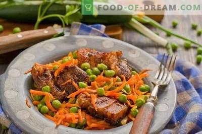 Wieprzowina z warzywami w piekarniku