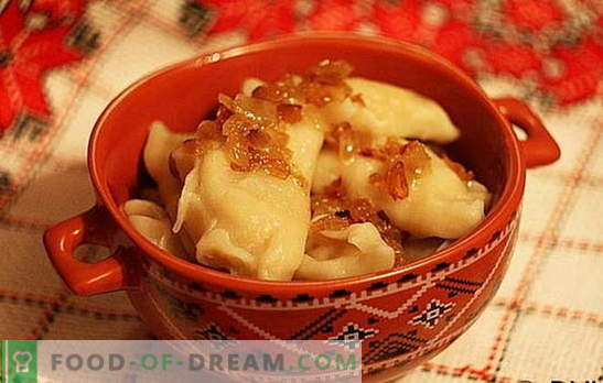 Pierogi z ziemniakami i kapustą: szybkie, smaczne, niedrogie. Wybór najlepszych przepisów na pierogi z ziemniakami i kapustą