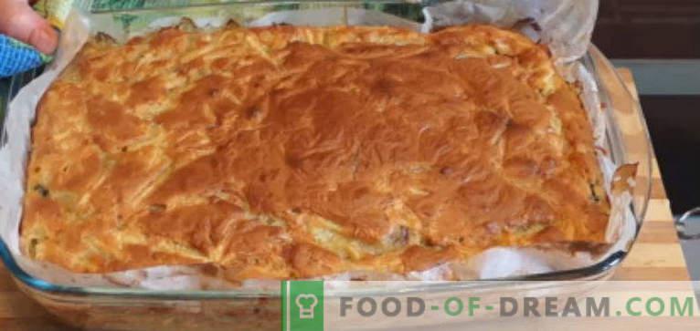 Ciasto z konserwy rybne - najlepsze przepisy