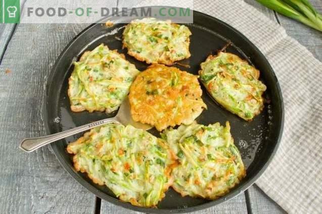 Zucchini Pancakes with Oatmeal - Zjedz i schudnij!