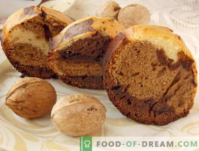 Nutty Chocolate Muffin