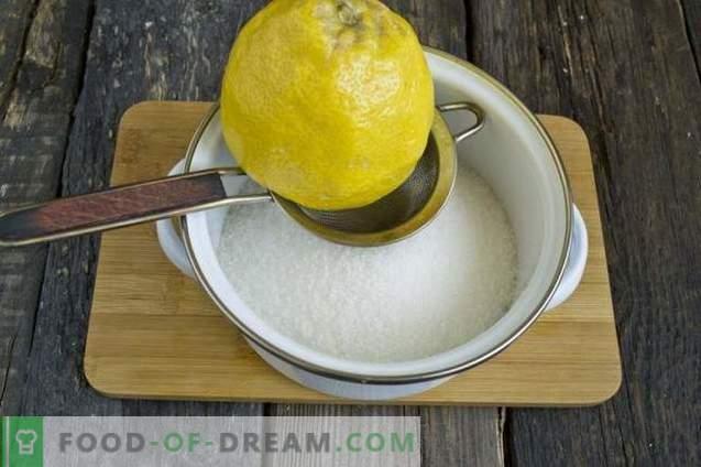 Dżem morelowy z cytryną