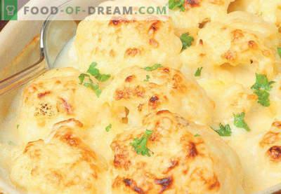 Zapiekanka z kalafiora w piekarniku, przepisy z serem, jajkiem, kurczakiem, mięsem mielonym, cukinią