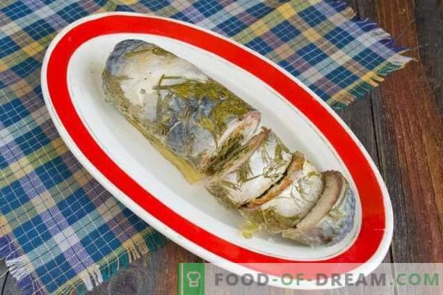 Rolka makreli w folii spożywczej