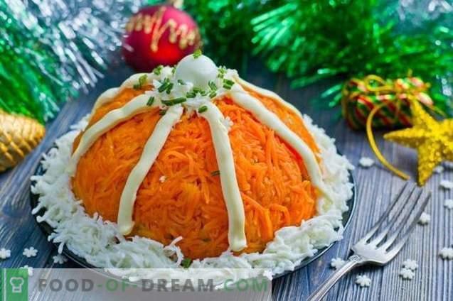 "Olivier Salad ""Santa Claus Hat"""