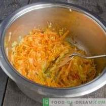 Zupa dyniowa z marchewką i imbirem