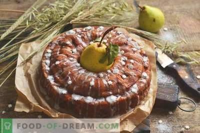 Torte mit Birnen und Äpfeln - Herbstteedessert