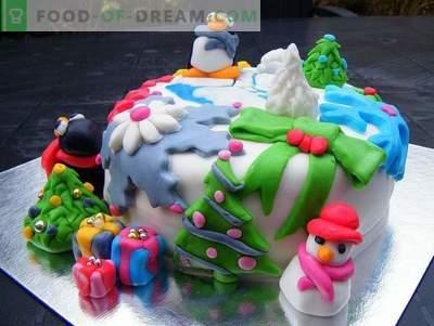 Ciasto na Nowy Rok - przepisy kulinarne na święta Nowego Roku