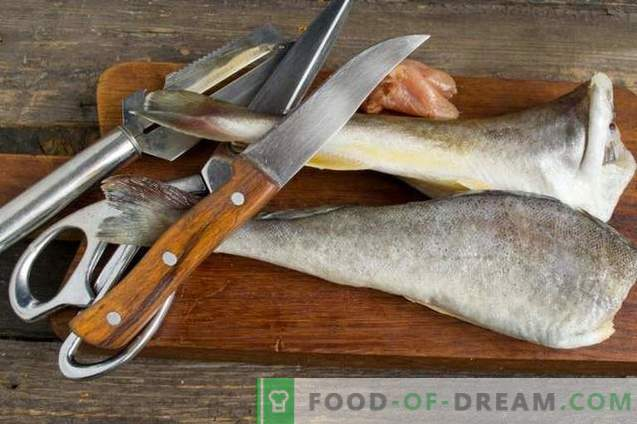 Delicious navaga w piekarniku - ryba pod marynatą