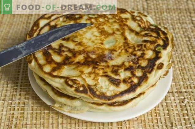Pancakes with Green Onions