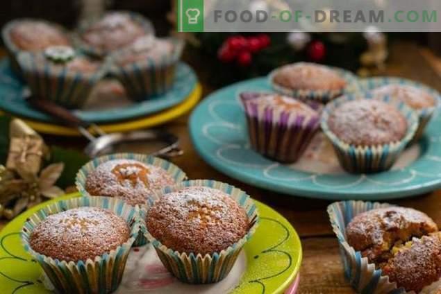 Domowe babeczki z suszonymi owocami - proste i smaczne