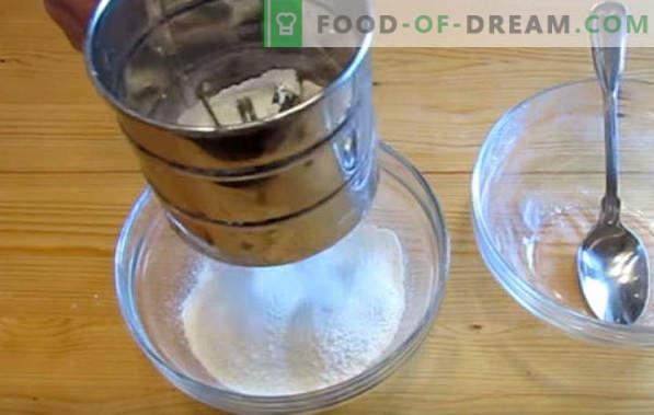 Smażone ciasto na eklery, przepisy na mleko, margarynę, olej roślinny