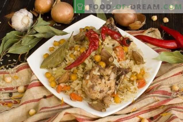 kurczak i pisklę plov