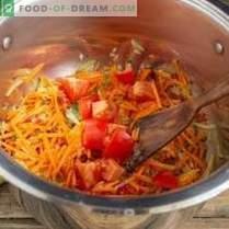 Zupa z soczewicy wiejskiej z żebrami