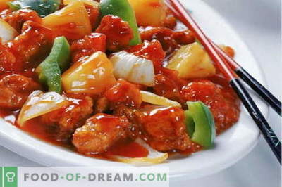 Chicken in Chinese - the best recipes. How to properly and cook chicken in Chinese.