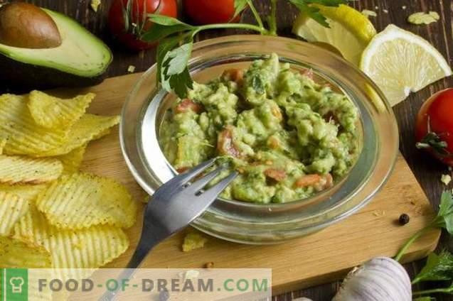 Guacamole - sos awokado