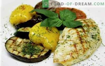 Soczysta pierś z kurczaka z warzywami: pyszne! Najlepsze przepisy na pierś z kurczaka z warzywami, serem, suszonymi morelami, fasolą, oliwkami