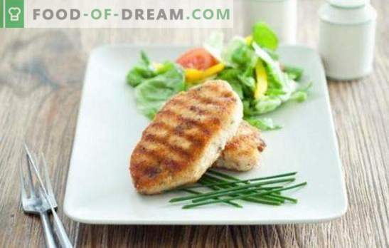 Meat Zrazy with Cheese - juicy burgers with filling! Simple recipes of fried and oven-baked meat zraz with cheese