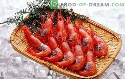 Comment nettoyer les crevettes? Règles de nettoyage des crevettes et astuces pour l'utilisation de coquilles de crevettes