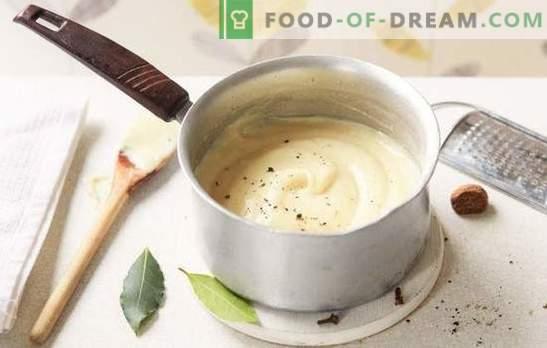 Jak gotować beszamel w domu? Sos beszamelowy w domu: z cebulą, mięsem, serem i grzybami