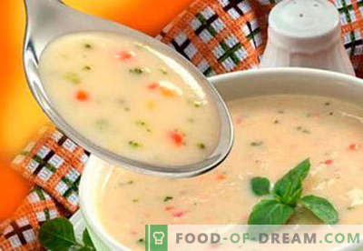 Zupy dla dzieci - sprawdzone przepisy. Jak prawidłowo i smacznie gotować zupy dla dzieci.