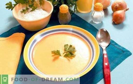 Zupa Multicooker: leniwi smakosze. Przepisy zupy puree w wolnej kuchence: ser, kurczak, warzywa, grzyby, wątroba