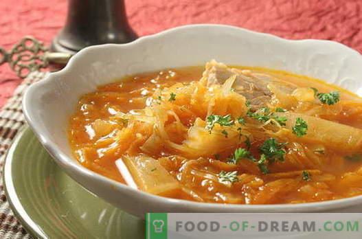 Zupa kapuściana - najlepsze przepisy. Jak właściwie i smacznie gotować kapuśniak.