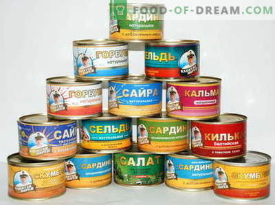 Konserwy rybne - najlepsze przepisy. Co można gotować z konserwy rybnej.