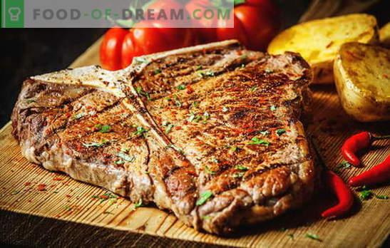 Jak smażyć stek, aby był idealny. Ile smażyć na patelni, grillu lub węglu drzewnym, marynacie i sosach