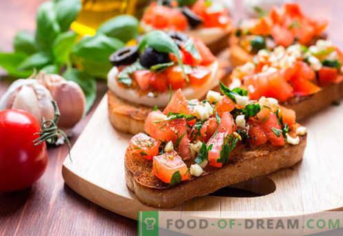 Kanapki z pomidorami to najlepsze przepisy. Jak szybko i smacznie gotować kanapki z pomidorami.