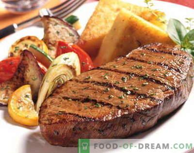 Befsztyk - najlepsze przepisy. Jak prawidłowo i smacznie gotować stek wołowy.