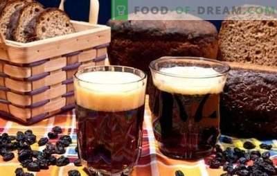 Kwas z czarnego chleba - ciemny, serdeczny, orzeźwiający! Przepis na kwas chlebowy na czarnym pieczywie bez drożdży