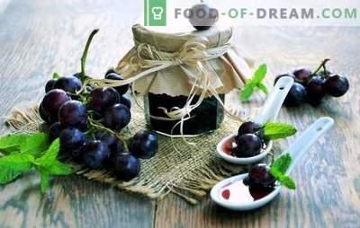 Dżem winogronowy - wyrafinowanie i prostota, urok i świeżość przez cały rok! Na zewnątrz jest zła pogoda, a my jesteśmy ciepli z dżemem z winogron - to szczęście!