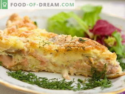 Fish Casserole - the best recipes. How to properly and tasty cook fish casserole.