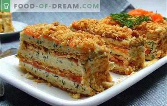 Ciasto rybne nazwane na cześć wielkiego cesarza Napoleona. Ser, truskawka, ryba, jak się masz, cesarzu?