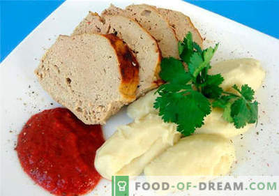 Suflet mięsny - najlepsze przepisy. Jak szybko i smacznie gotować suflet mięsny.