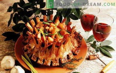 Soczyste mięso królewskie: najlepsze przepisy popularnej potrawy. Mięso królewskie z ziemniakami, pomarańczami, kiwi, bakłażanem