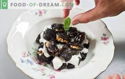 Śliwki nadziewane orzechami włoskimi - przystawka lub deser? Najlepsze przepisy na śliwki nadziewane orzechami włoskimi