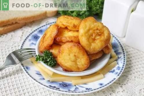 Krokiety ziemniaczane - ciekawe danie ze zwykłych ziemniaków