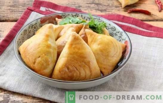 Samsa Uzbek - wypieki pochodzą ze wschodu. Najlepsze przepisy na ptyś samsa z jagnięciną, ziemniakami, dynią i kurczakiem