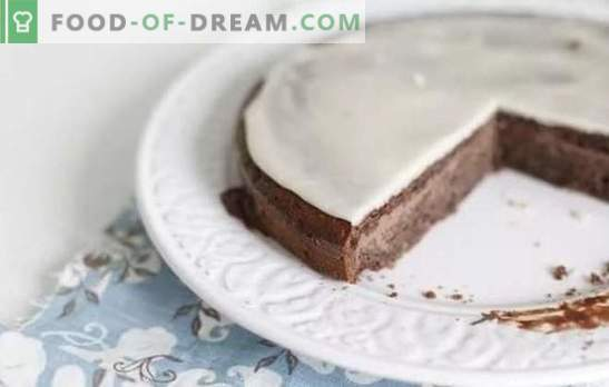 Sour cream frosting is a great addition to home baking. The best recipes for sour cream glaze with cocoa, lemon juice, chocolate