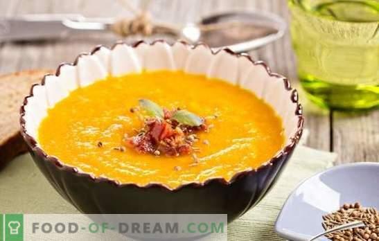 Jak ugotować pyszną zupę dyniową z imbirem? Przepisy na zupę imbirową: śmietana, ziemniaki, mleko kokosowe