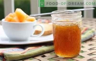 Dżem melonowy: proste przepisy na oryginalny deser. Jak zrobić pyszny dżem melonowy na zimę, z jabłkami, z cytryną: przepisy