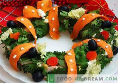 Świąteczne sałatki - sprawdzone przepisy. Jak gotować świąteczne sałatki.