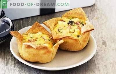 Pie Ham - satysfakcjonujące, smaczne, łatwe! Przepisy różnych ciast z szynką i serem, ryżem, jajkiem, pomidorami